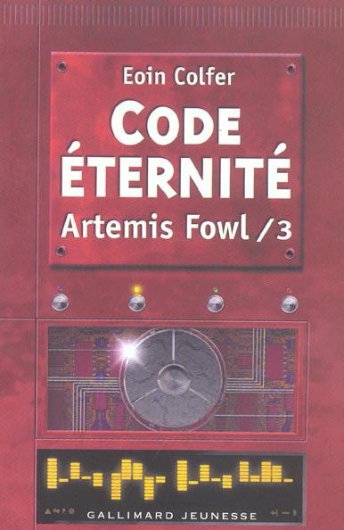 Artemis Fowl t.3 ; code éternité