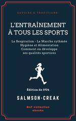 Vente Livre Numérique : L'Entraînement à tous les sports  - Salmson-Creak