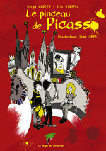 Vente Livre Numérique : Le pinceau de Picasso  - Eric Stoffel - Serge Scotto