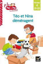 Vente Livre Numérique : Téo et Nina CP-CE1 niveau 4 - Téo et Nina déménagent  - Marie-Hélène Van Tilbeurgh - Isabelle Chavigny