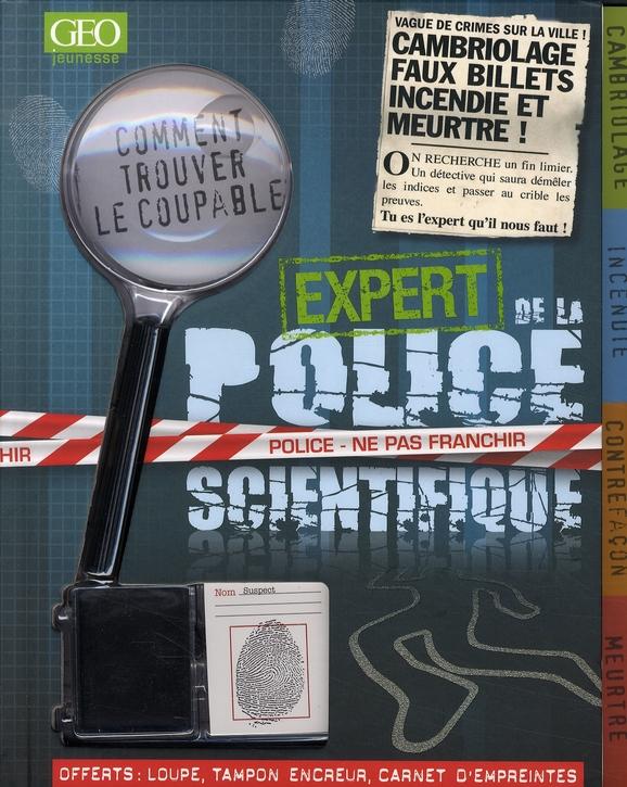 Expert de la police scientifique