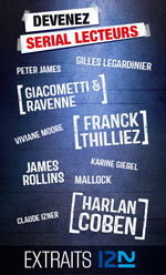 Vente Livre Numérique : Recueil Serial Lecteurs 2014  - Karine GIEBEL - James ROLLINS - Claude IZNER - Viviane MOORE - MALLOCK - Peter JAMES - Harlan COBEN - Franck Thilliez - Éric GIA