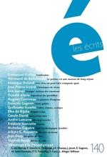 Vente EBooks : Les écrits. No. 140. Mars 2014  - Jean-Pierre Girard - Emmanuel Kattan - Éric SARNER - Monique Deland - Donald Alarie - Normand de Bellefeuille - Hugues Corrive