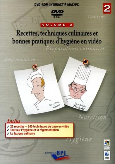 Recettes techniques culinaires et bonnes pratiques d'hygiene en video 2