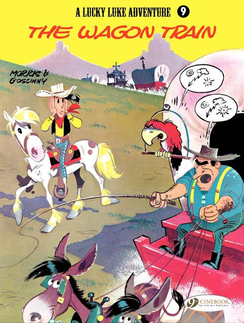Lucky Luke T.9 ; the wagon train