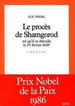 Vente EBooks : Le Procès de Shamgorod, tel qu'il se déroula le 25 février 1649  - Élie Wiesel