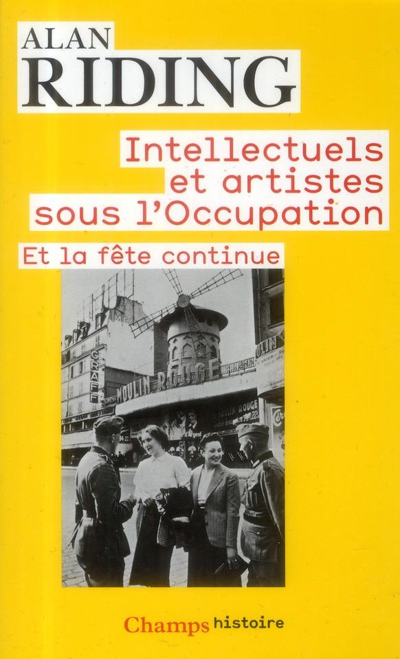 La vie culturelle sous l'occupation