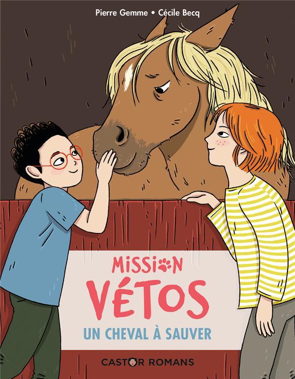 Mission vétos ; un cheval à sauver