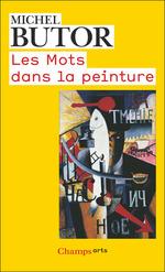 Vente Livre Numérique : Les Mots dans la peinture  - Michel Butor