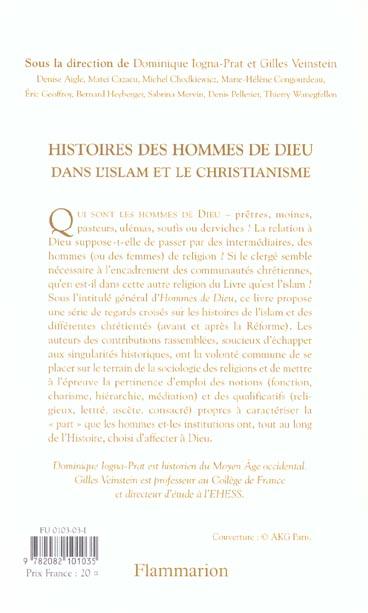 Histoires des hommes de dieu dans l'islam et le christianisme