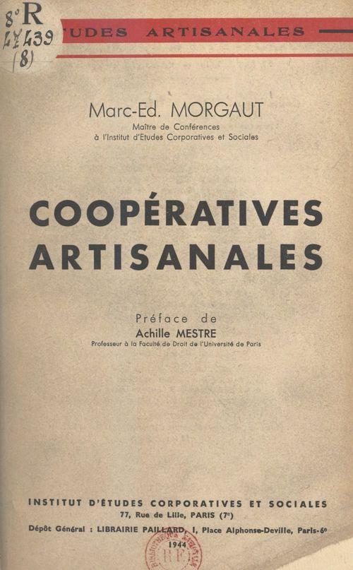 Coopératives artisanales