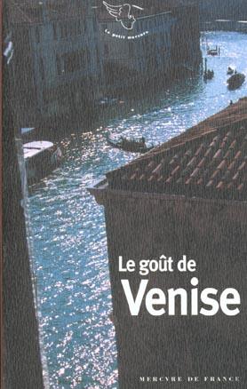 Le goût de Venise
