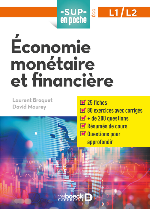 Sup en poche ; économie monétaire et financière ; L1/L2