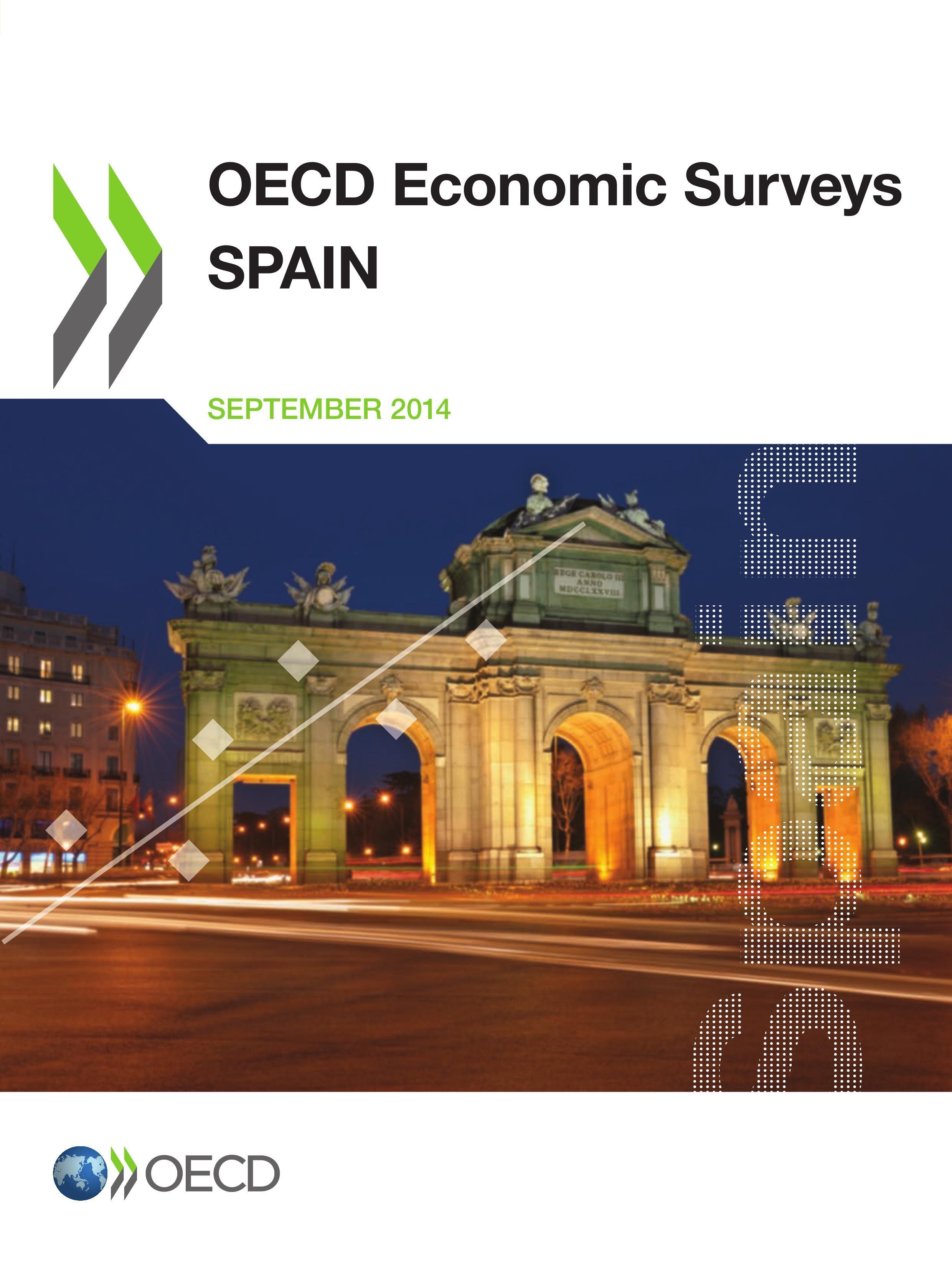 Spain 2014 ; OECD economic surveys