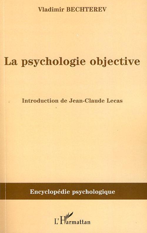La psychologie objective