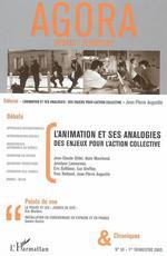Vente Livre Numérique : L'animation et ses analogies  - Yves Raibaud - Jean-Claude Gillet - Luc Greffier - Jean-Pierre Augustin - Eric Gallibour - Alain Marchand - Jocelyne Lamoureux