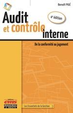 Vente EBooks : Audit et contrôle interne - 4e édition  - Benoît Pigé