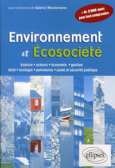 Environnement et écosociété
