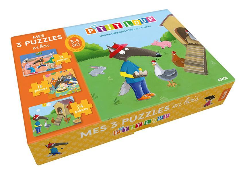 P'TIT LOUP - PUZZLE EN BOIS