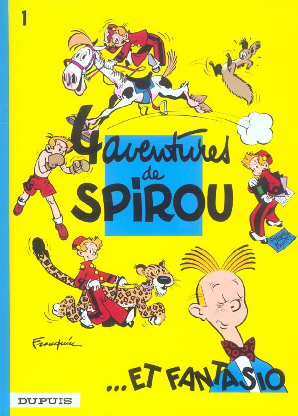 Les Aventures De Spirou Et Fantasio T.1 ; 4 Aventures De Spirou