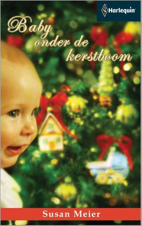 Baby onder de kerstboom