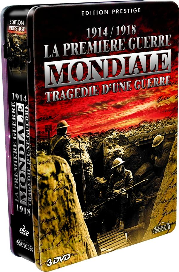 coffret 1914/1918, la première guerre mondiale - tragédie d'une guerre
