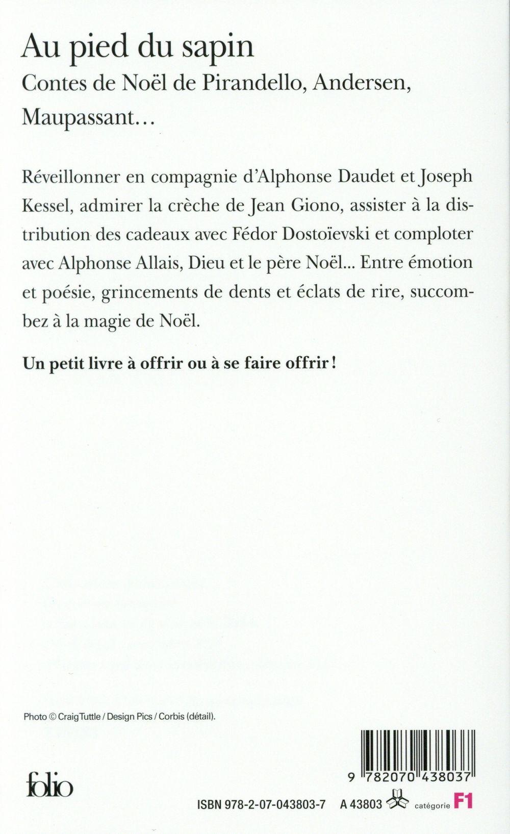 au pied du sapin ; contes de Noël de Pirandello, Andersen, Maupassant...