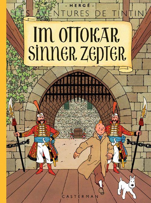 Les aventures de Tintin T.8 ; im Ottokar sinner zepter