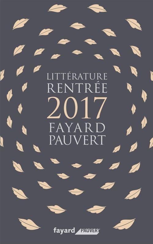 Booklet Rentrée Littéraire 2017