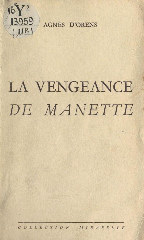 La vengeance de Manette