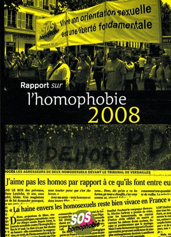 Rapport sur l'homophobie (édition 2008)
