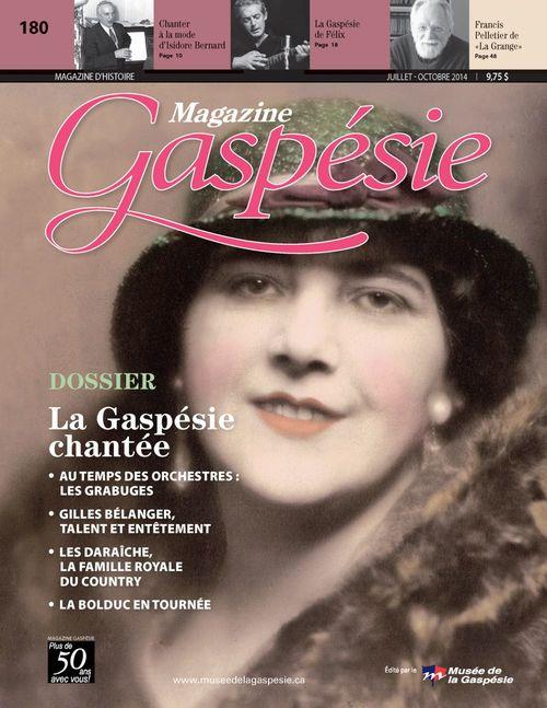 Magazine Gaspésie. Vol. 51 No. 2, Juillet-Octobre 2014