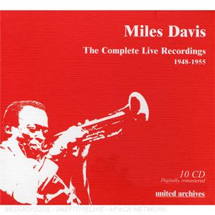 the complete live recordings (1948-1955)