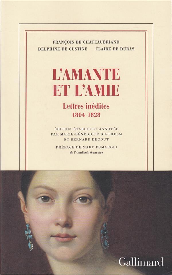 L'amie et l'amante ; lettres inédites, 1804-1828