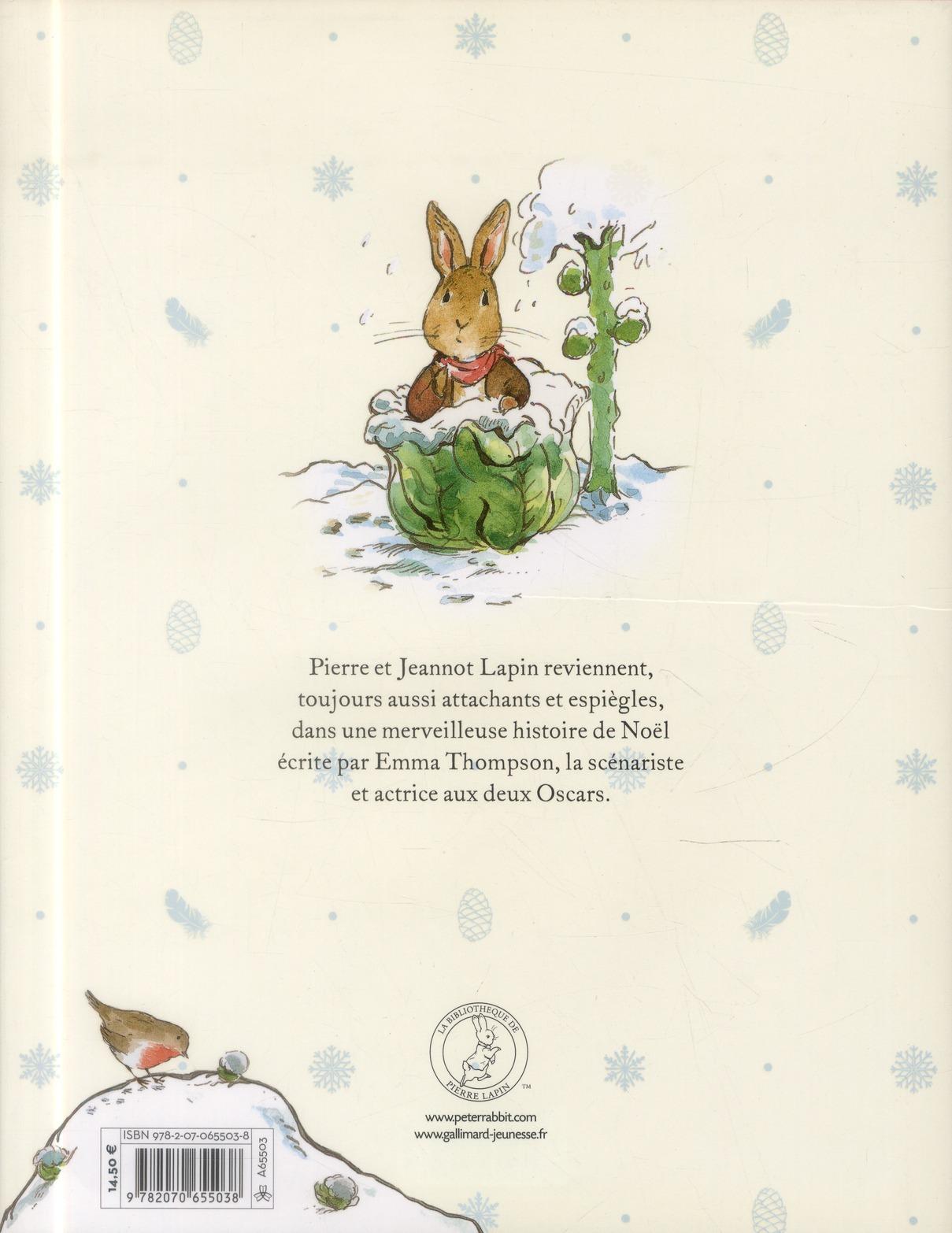 L'aventure de Noël de Pierre Lapin