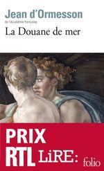 Vente EBooks : La Douane de mer  - Jean d'Ormesson