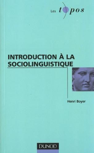 Introduction A La Sociolinguistique