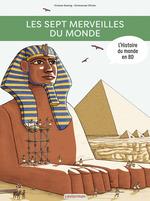 Vente Livre Numérique : L'Histoire du monde en BD - Les Sept Merveilles du monde  - Viviane Koenig