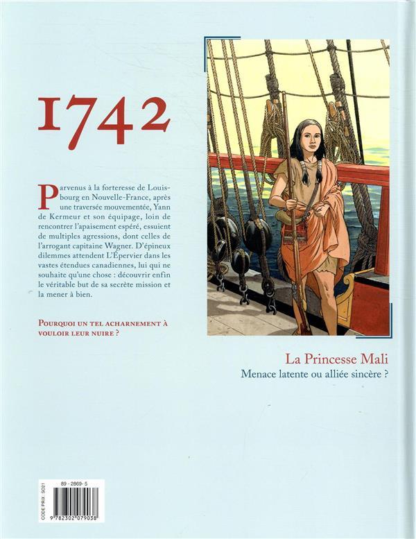L'Epervier T.10 ; la princesse indienne