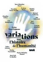 Couverture de Variations sur l'histoire de l'humanité
