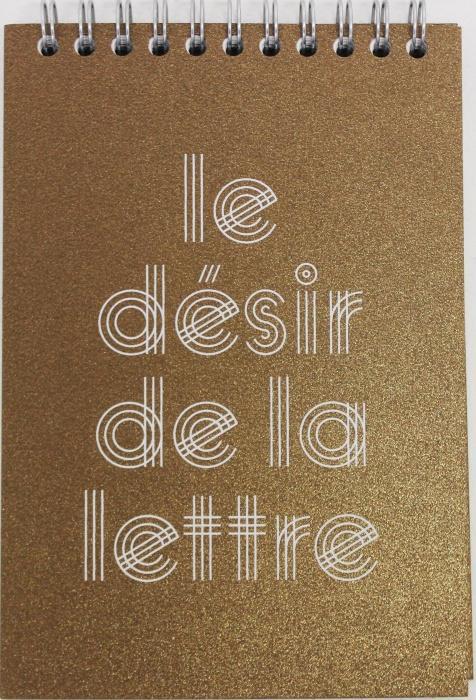 Le désir de la lettre