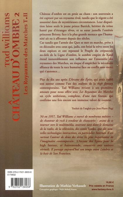 Les royaumes des marches t.2 : château d'ombre t.2