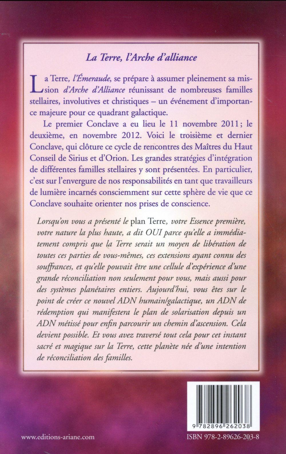 Conclave t.3 ; la nouvelle arche d'alliance