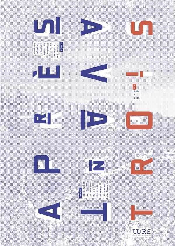 Apres/avant n 03 - revue annuelle de culture graphique