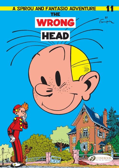 Spirou & Fantasio adventures T.11 ; the wrong head