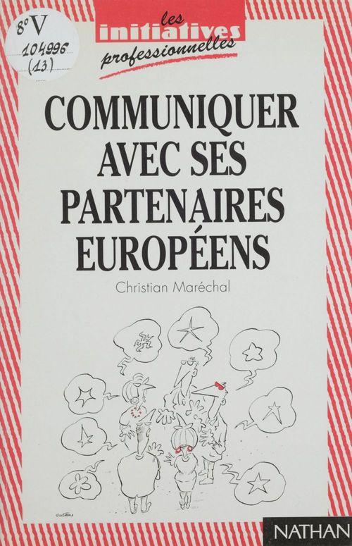 Communiquer avec ses partenaires europeens
