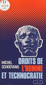 Vente Livre Numérique : Droits de l'homme et technocratie  - Michel Schooyans