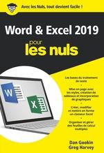 Vente Livre Numérique : Word et Excel poche pour les nuls (édition 2019)  - Dan Gookin
