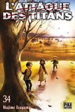 Vente Livre Numérique : L'attaque des titans t.34  - Hajime Isayama