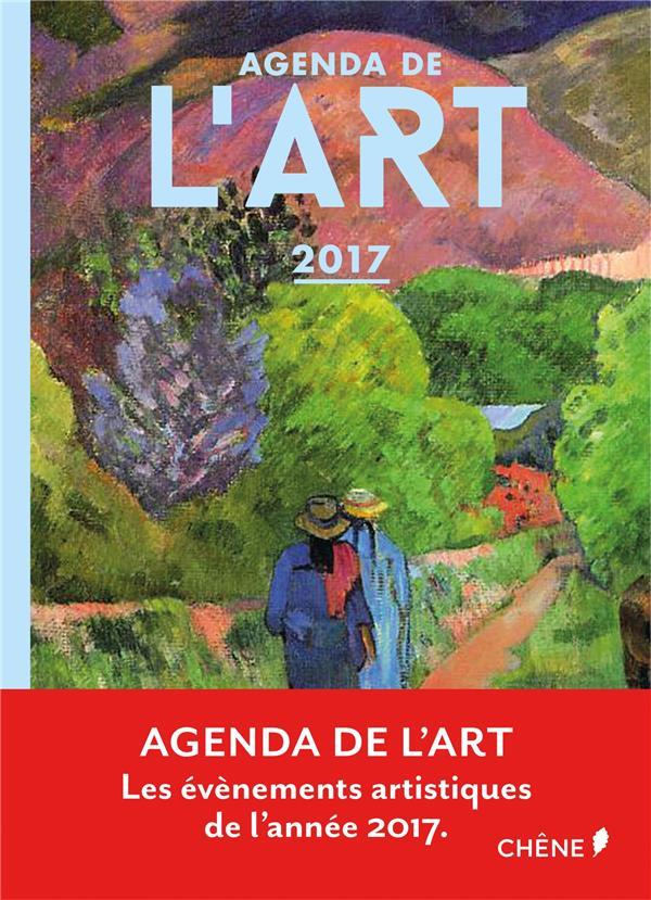 Agenda de l'art 2017